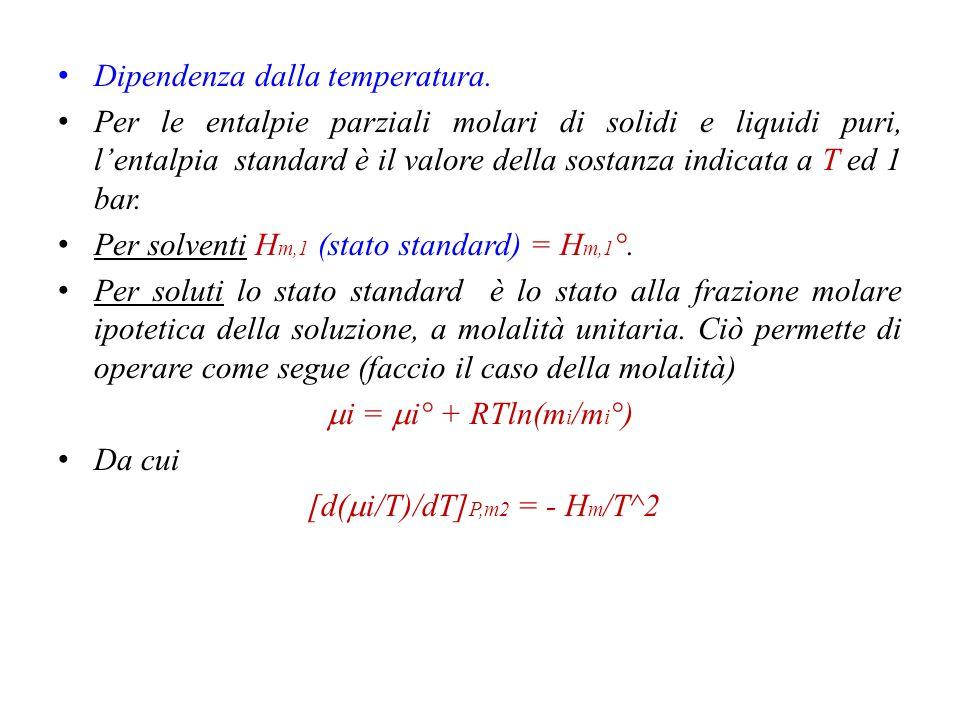 [d(mi/T)/dT]P,m2 = - Hm/T^2